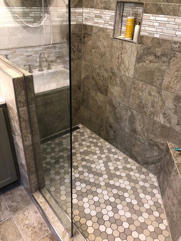 Luxury Bathroom Transformation (After)