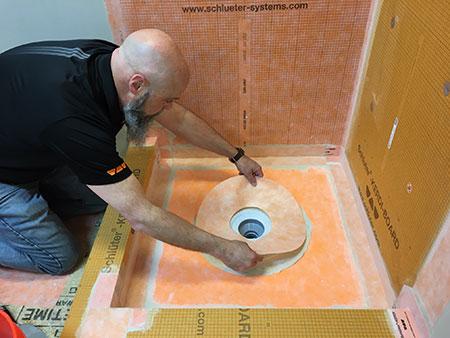 Schluter®-KERDI-BOARD Installation