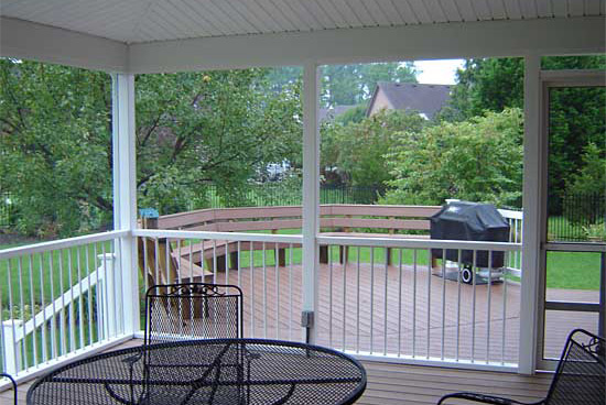 Porch Screen Systems at Elkins Builder's Supply